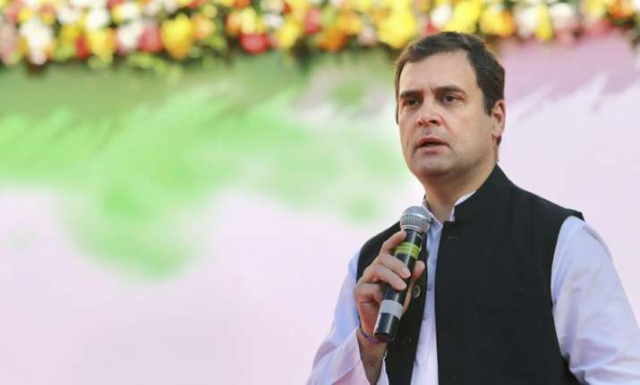 Rahul Gandhi on Wednesday filed his nomination for the