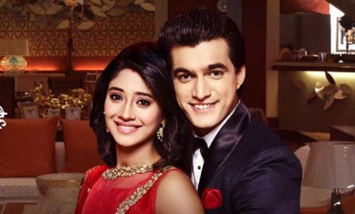Kartik and Naira engage in a sweet and candid moment.