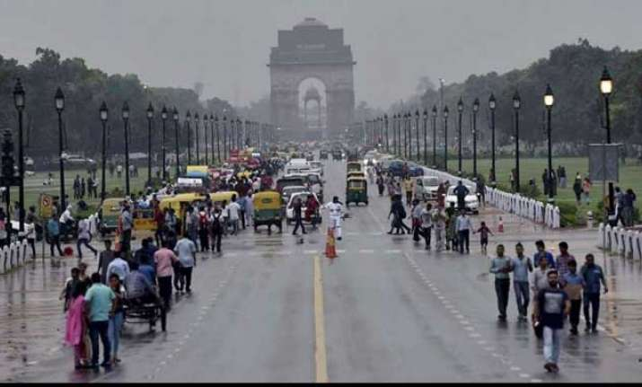 Rains lashed several parts of the national capital on