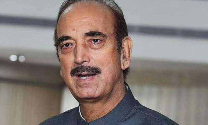 No issue if Congress doesn't get PM's post: Ghulam Nabi Azad
