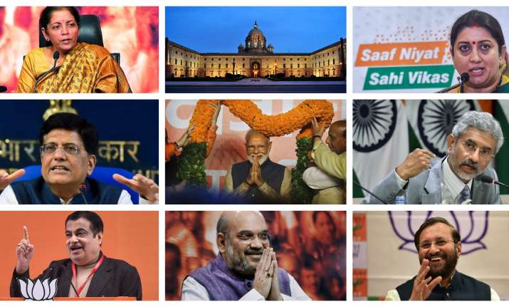 List of ministers in the new Union Cabinet