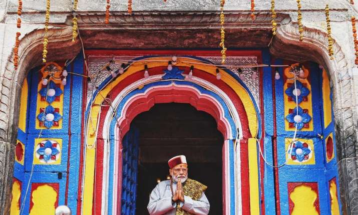 Prime Minister Modi offers prayers at Kedarnath