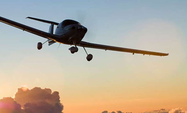 The trainee pilot was flying on autopilot from Port Augusta