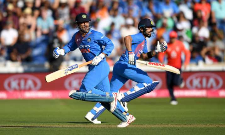 Kohli recently stated that the team is richer with Dhoni's