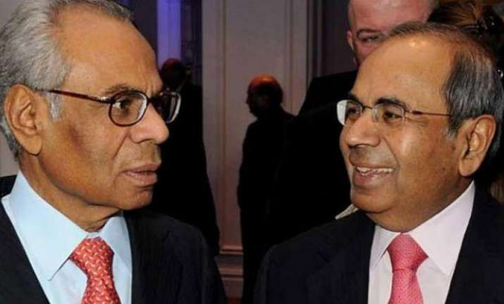 Gopichand and Srichand Hinduja saw their fortune increase