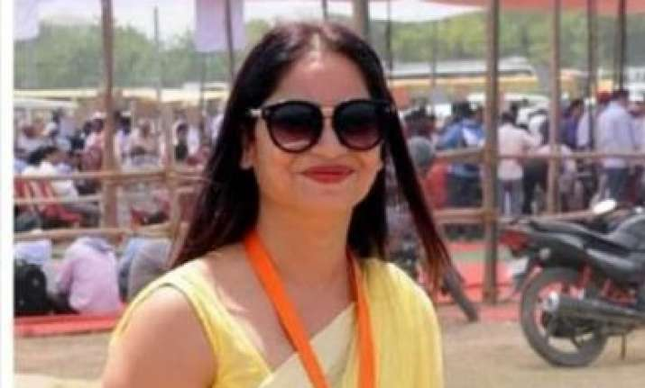 Reena Dwiwedi is a polling officer who hails from Lucknow.