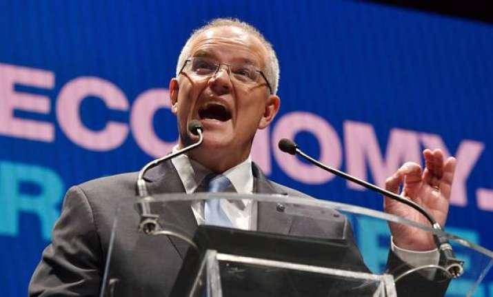 Australian Prime Minister Scott Morrison