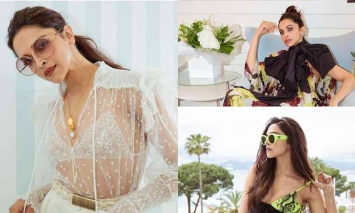 Deepika Padukone's Day 2 looks at Cannes 2019