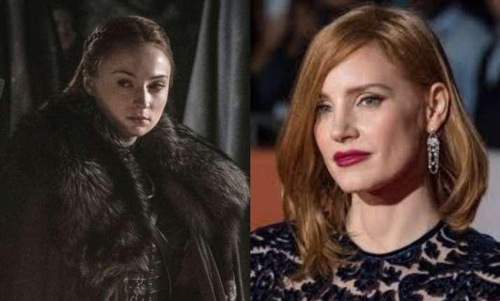 Jessica Chastain Slams GoT Makers Over Sansa Stark's