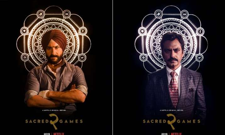 Sacred Games 2 New Poster OUT: Saif Ali Khan poses in an