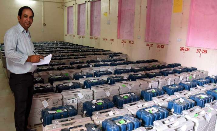 How EVM strong-rooms are secured as per the Election