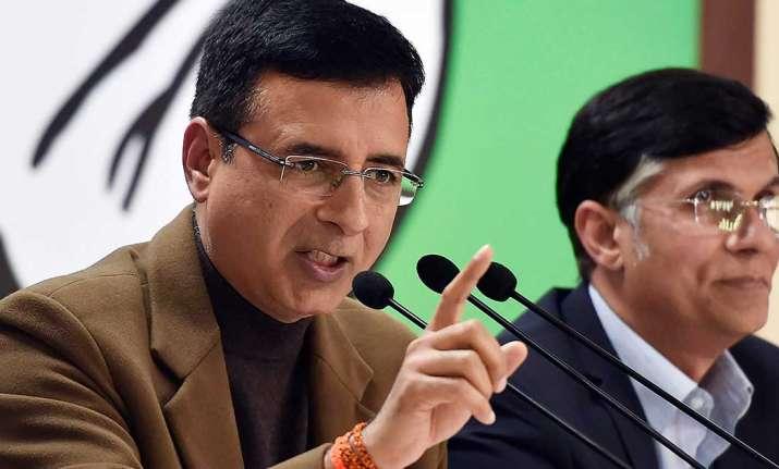 Chief Spokesperson Congress Randeep Surjewala
