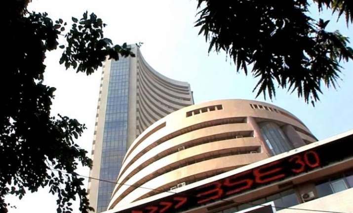 Sensex gives 1400-point salute to exit polls predicting