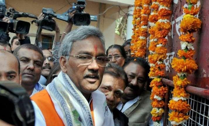Chief Minister Trivendra Singh Rawat