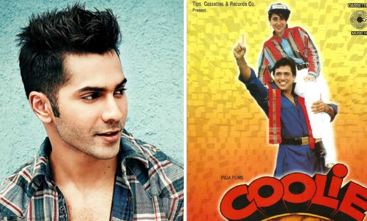 Varun Dhawan on Coolie No 1 remake: It's the next challenge