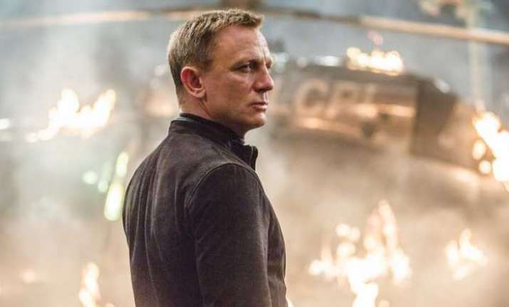 Explosion on 'James Bond' set, one injured