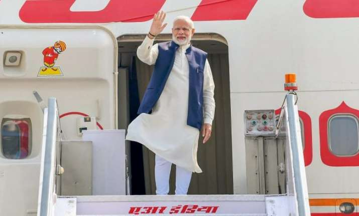 Prime Minister Narendra Modi will not fly over Pakistan.