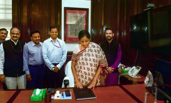 Nirmala Sitharaman, the first full-time woman finance