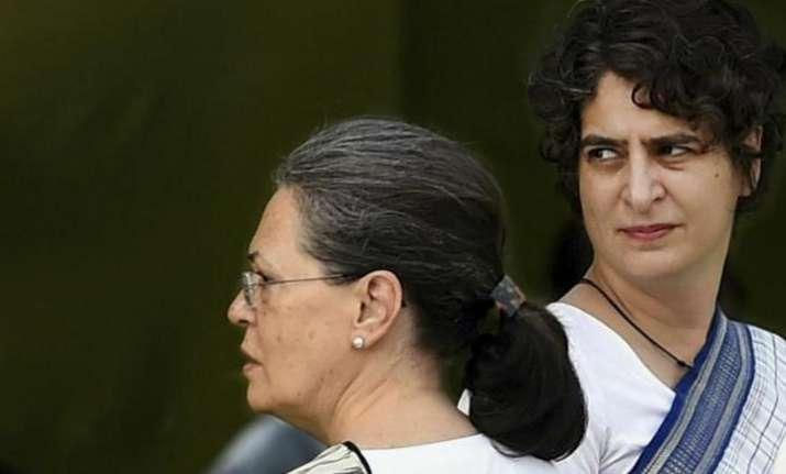 Sonia Gandhi and Priyanka Gandhi visit Rae bareli