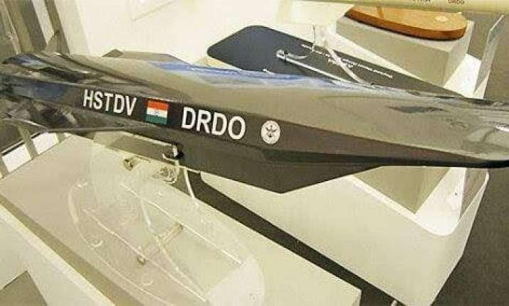 Model of hypersonic technology demonstrator vehicle