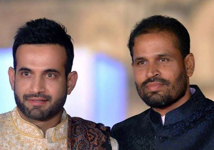 Irfan Pathan with brother Yusuf Pathan. - India Tv