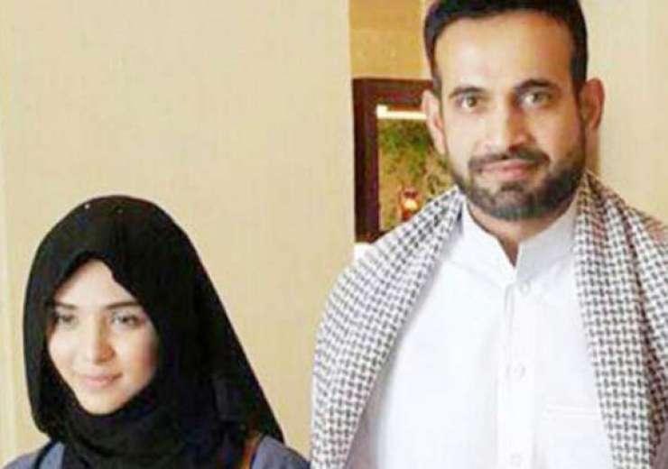 Irfan Pathan with wife Safa Baig - India Tv