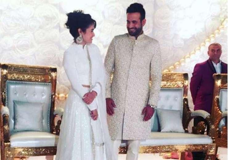 Irfan Pathan Wedding Reception - India Tv