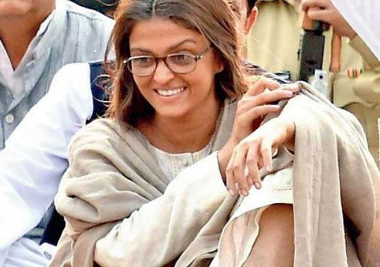 aishwarya rai during the shooting of sarabjit - India Tv