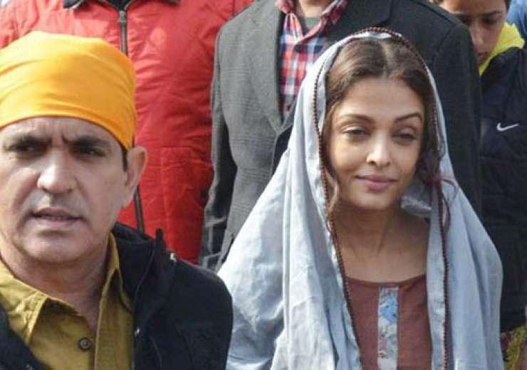 aishwarya rai, omung kumar during their visit to golden temple for sarabjit - India Tv