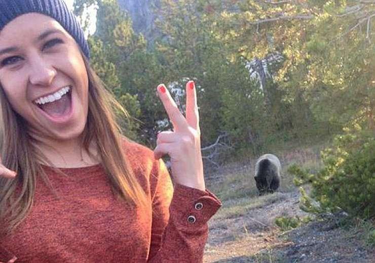 The Bear Selfie - India Tv