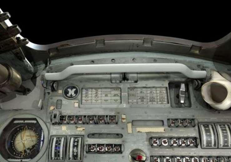 A control panel of the Apollo 11 command module - India Tv