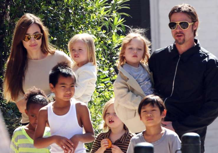 Reportedly Angelina wants custody of kids. - India Tv