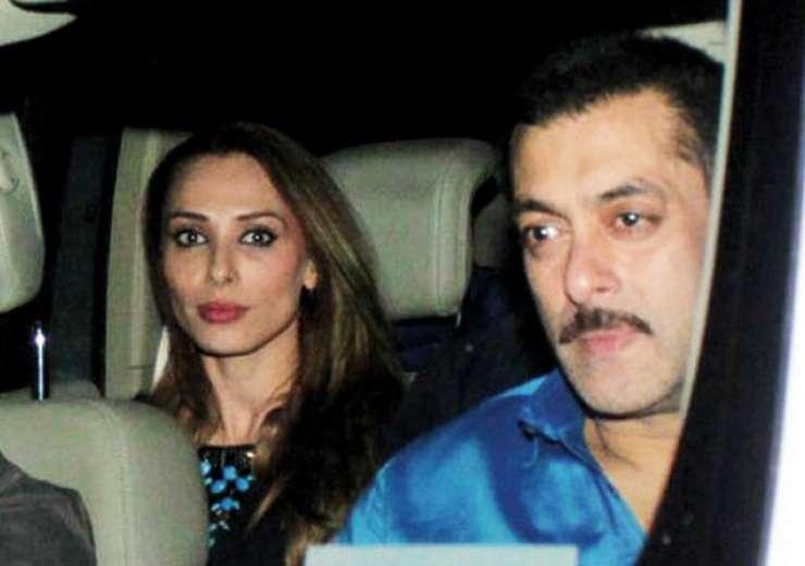 Salman and Iulia in car - India Tv