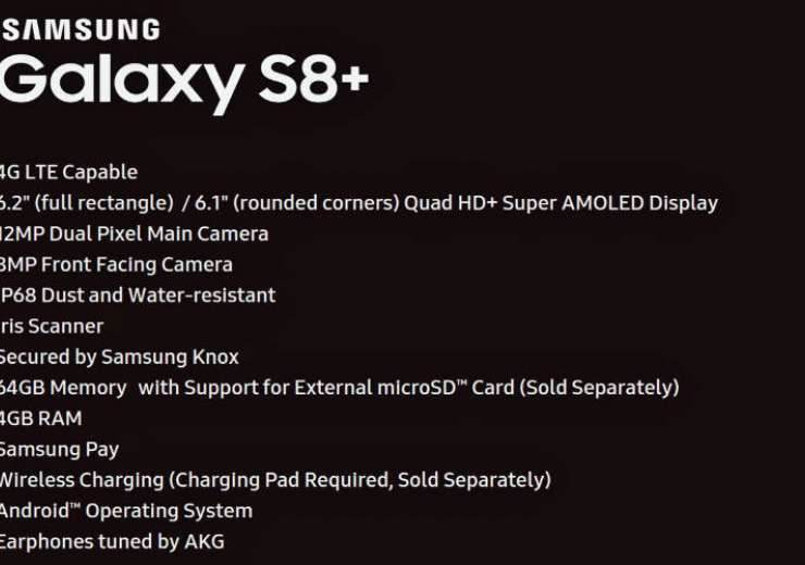 Samsung Galaxy S8+ specs leaked: 6.2-inch display, 'dual-pixel' camera and more - India Tv