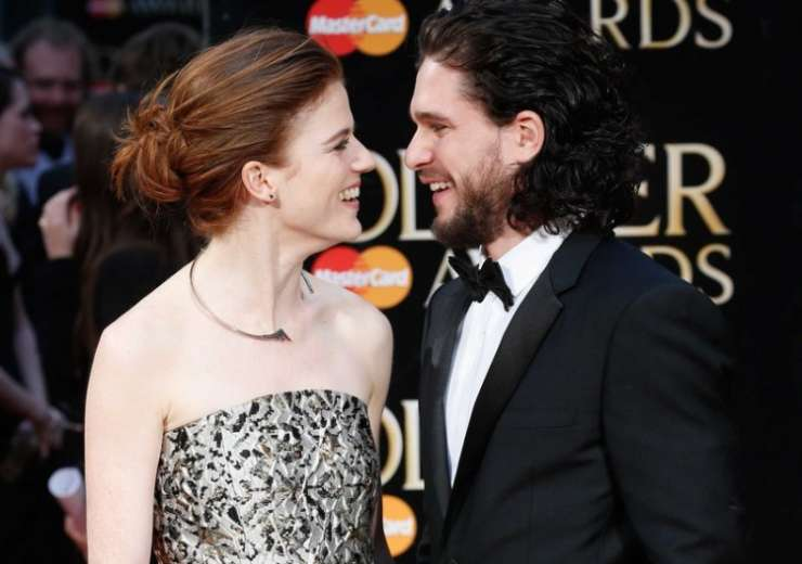 Kit Harrington and Rose Leslie's wedding invitation has GoT stamp - India Tv