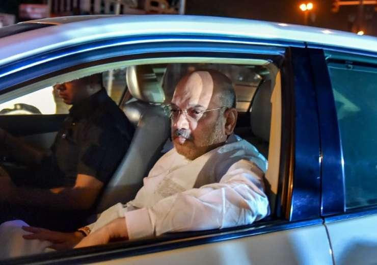 BJP President Amit Shah visits former prime minister Atal Bihari Vajpayee at AIIMS - India Tv