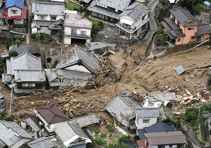 Japan Landslide - India Tv