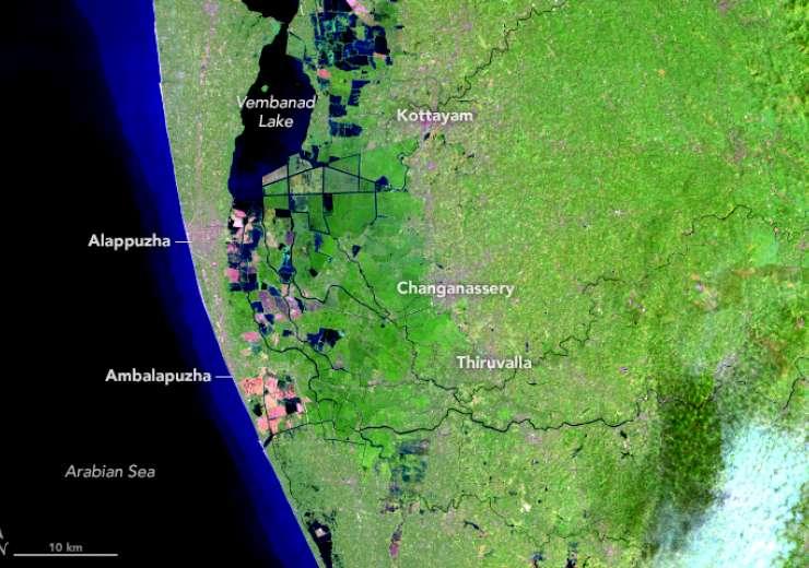 NASA, Kerala flood, - India Tv