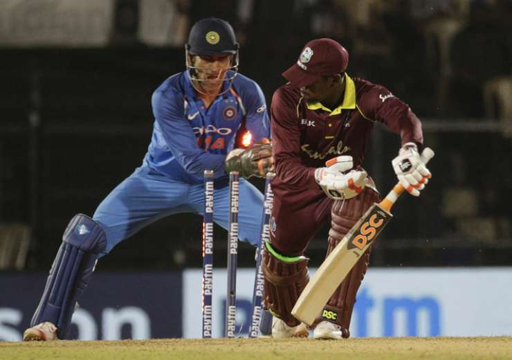In ODIs, Dhoni has 444 dismissals to his name - 321 catches and 123 stumpings - the third-best figure in the world - India Tv