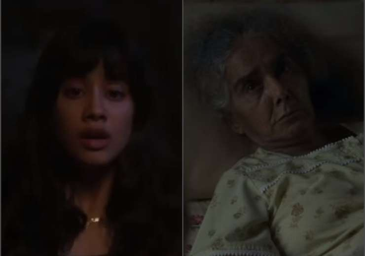 Surekha Sikri, Janhvi Kapoor - India Tv