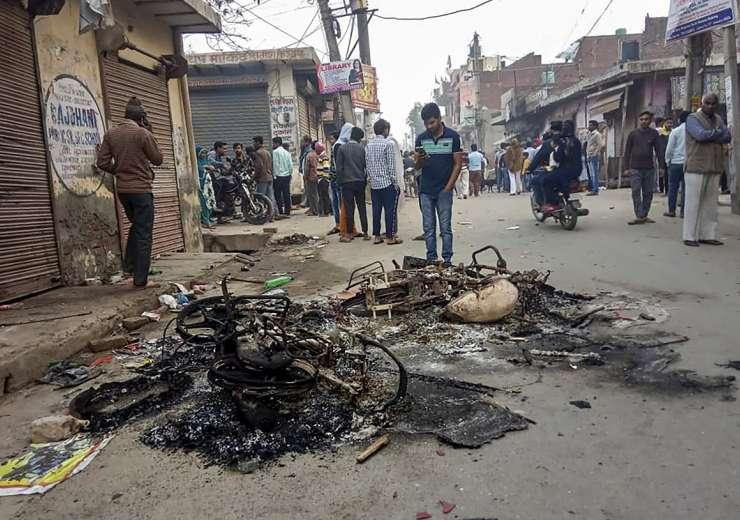 Delhi Violence Latest News north east delhi photos news videos - India Tv