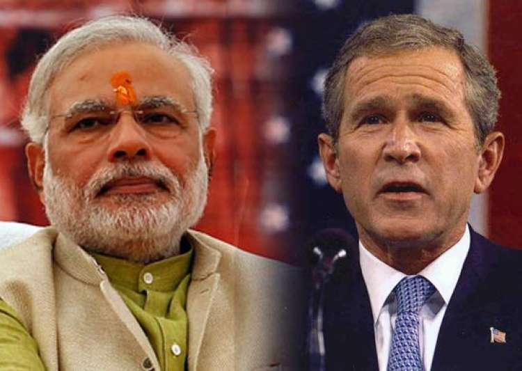 Bush and Modi