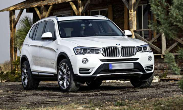 2015 bmw x3 facelift unveiled india launch later this year