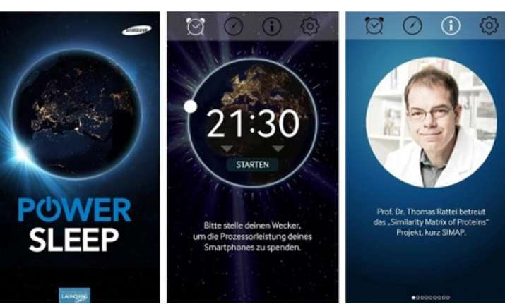 power sleep app uses your phone for r d while you sleep