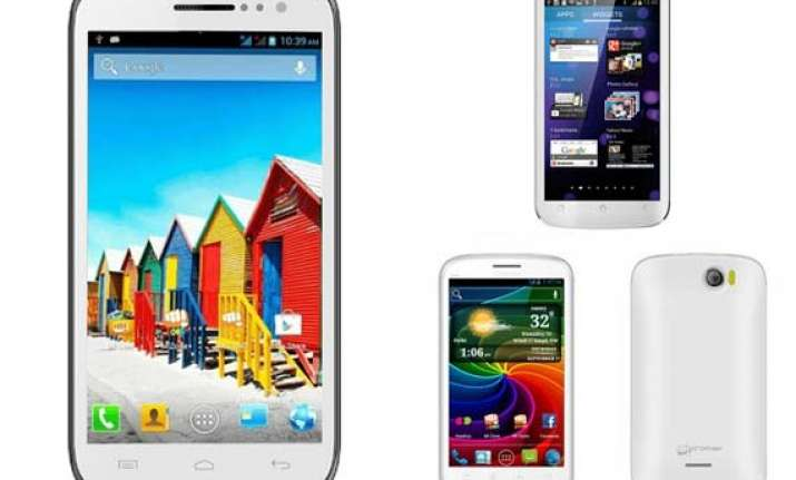 5 best micromax smartphones in india see pictures and