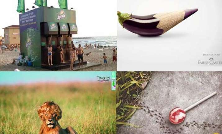 20 creative and clever print ads
