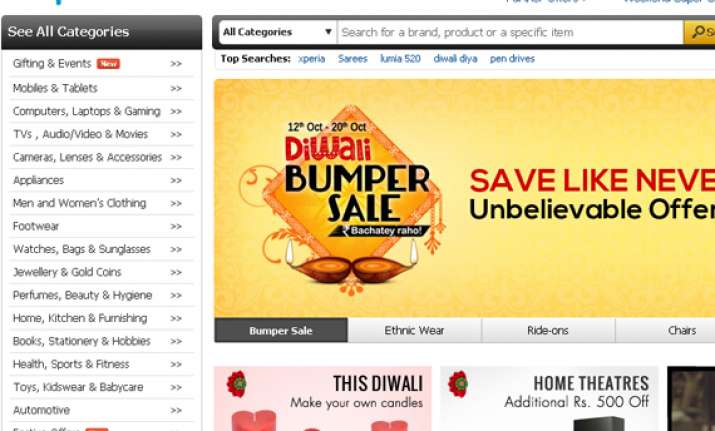 snapdeal says 30 orders are being placed through mobiles