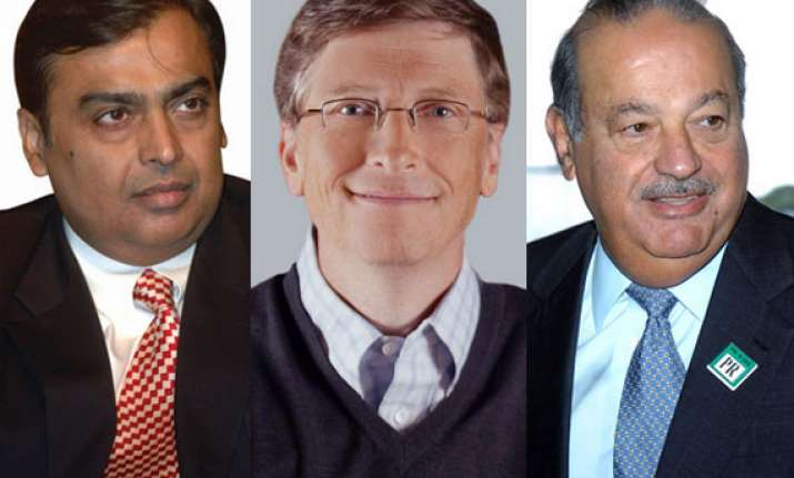 20 richest people in 20 major countries