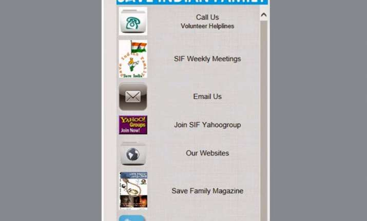 a mobile app to save men in distress