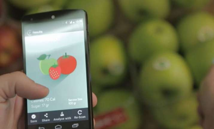 a scanner that checks your fruit s nutritional value